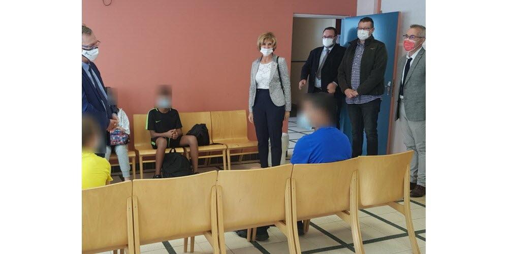 Une quarantaine d'élèves vaccinés à la cité scolaire Charles-Hermite
